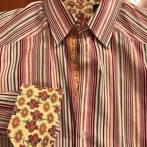 Fantastic Robert Graham L dress shirt!